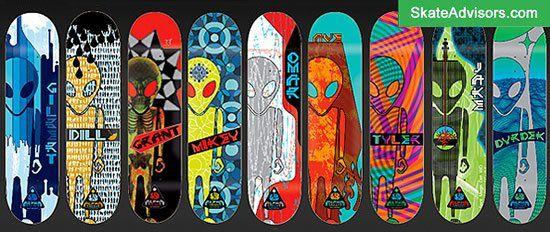 Alien Workshop skateboard brands
