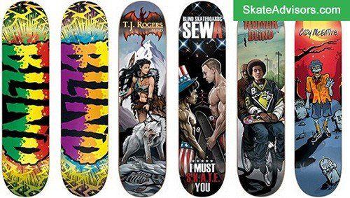 blind skateboard brands