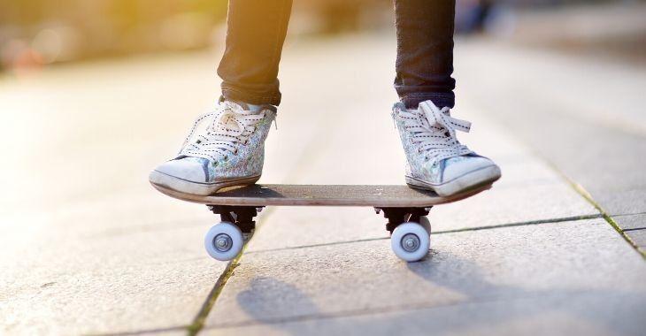 easy skateboarding trick for beginners