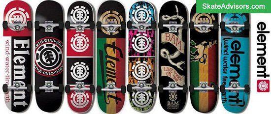 Element Skateboard brands
