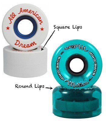 skateboard wheel shape