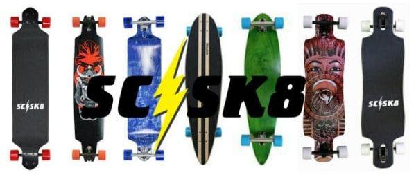 scsk8 pro skateboard review