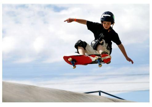 is it hard to skateboard
