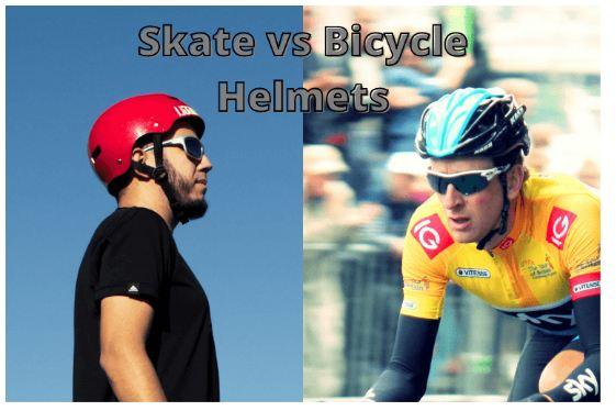 skate helmet vs bike helmet
