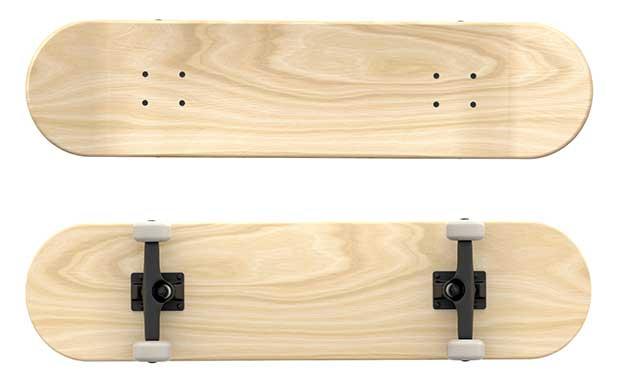 best wood for a skateboard