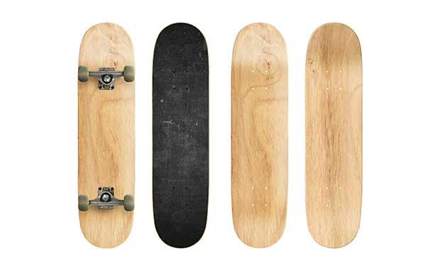 best wood to make a skateboard