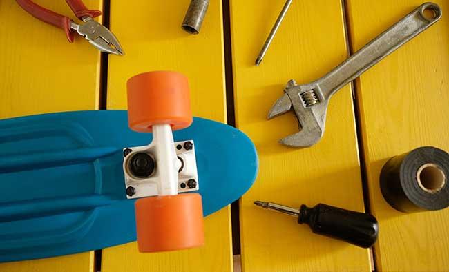 how to make skateboard bearings
