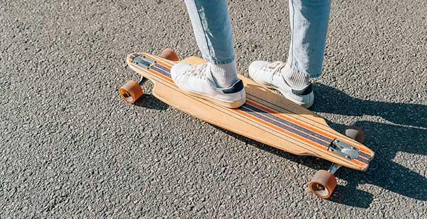best cheap drop through longboard