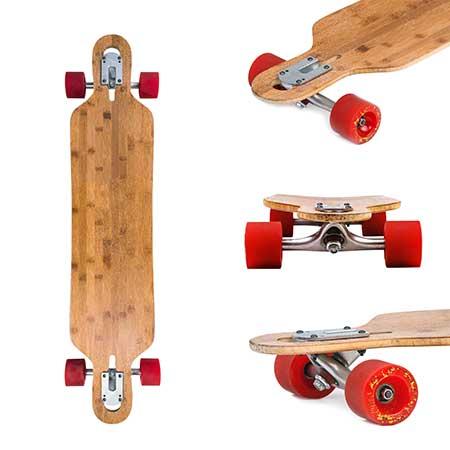 best quality drop through longboard