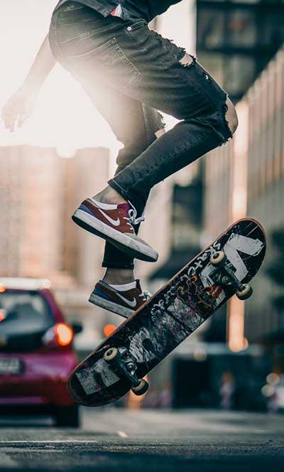 can tall people skateboard
