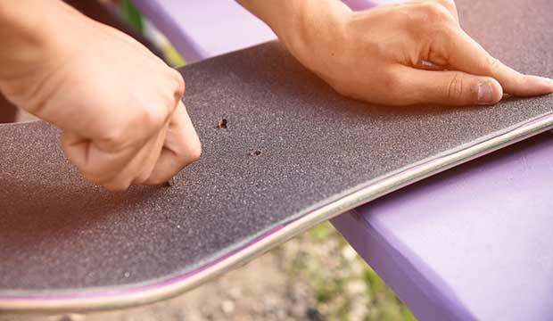 grip tape for a longboard