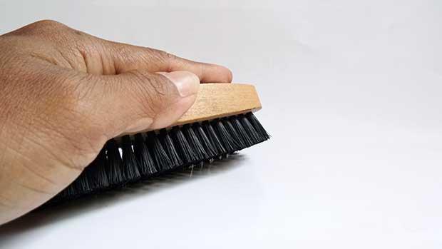 how to clean skateboard griptape