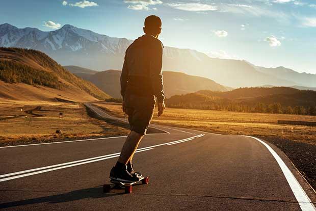 is longboarding good exercise