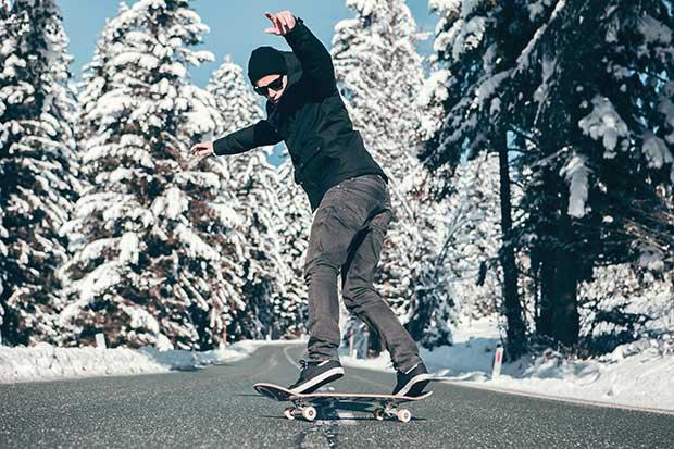 easy beginner tricks on a skateboard