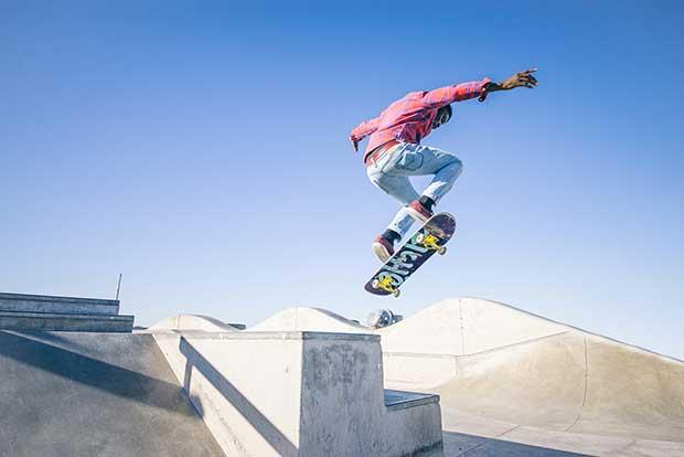 how dangerous is skateboarding