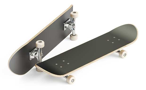 how heavy is a skateboard deck