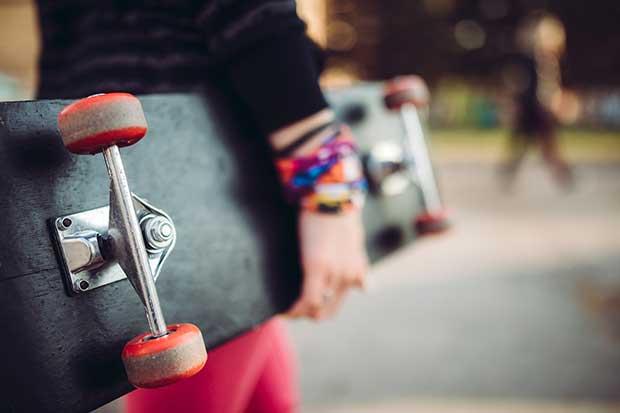 how to measure skateboard wheels