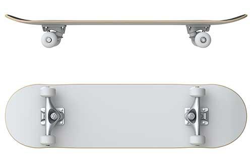 nose vs tail skateboard