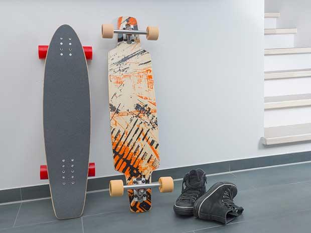 types of skateboards