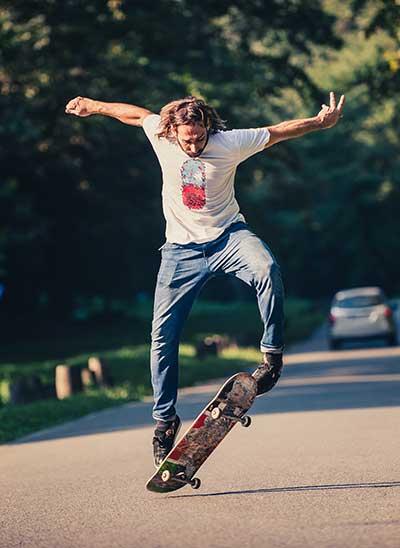weight deck skateboard