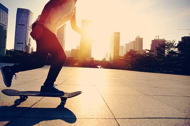 why you should start skateboarding