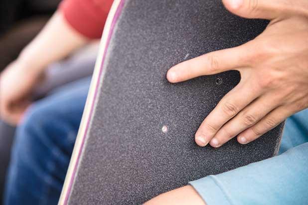 is a penny board easier than a skateboard