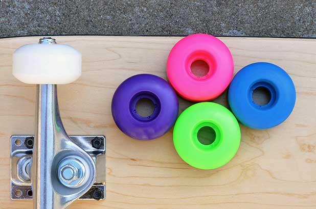 skateboard wheels yellow