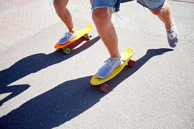 how to ride a cruiser skateboard
