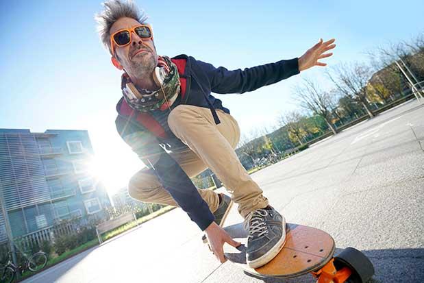 how to start skateboarding again